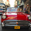 Cuban Classic Car Front End