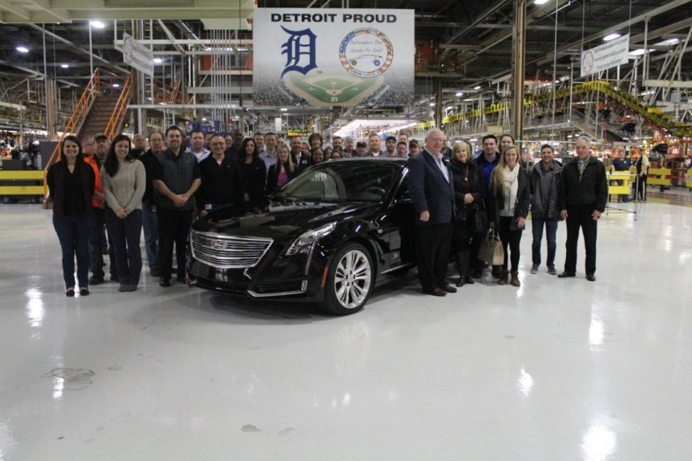 Detroit Auto Auction >> Man Who Bid $200,000 for the First Cadillac CT6 Finally Receives Car - The News Wheel