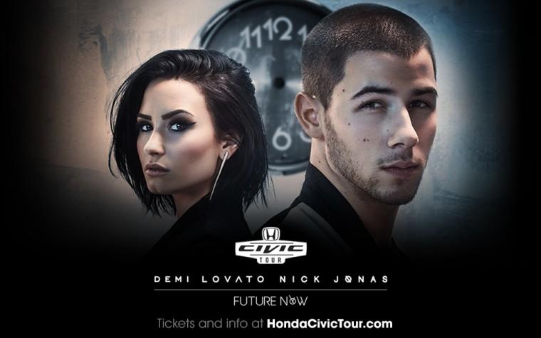 Demi Lovato and Nick Jonas to headline 2016 Honda Civic Tour