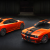 Dodge Go Mango Charger and Challenger