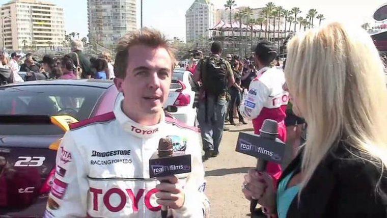 Frankie Muniz at a past Toyota Pro/Celebrity Race