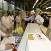 Governor Pence tours the HMIN facility in Greensburg