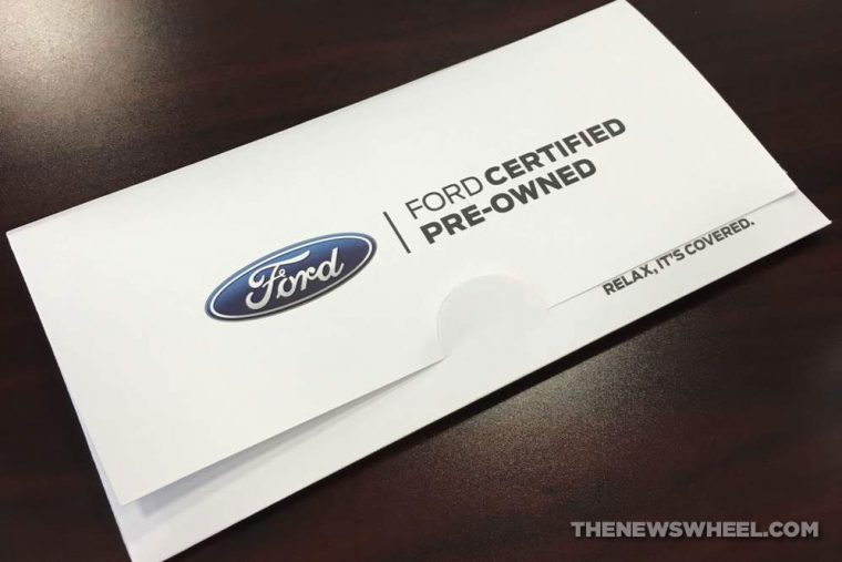 Ford Certified Pre-Owned Packet