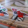 IndyCar Unplugged racing board game review car pawns