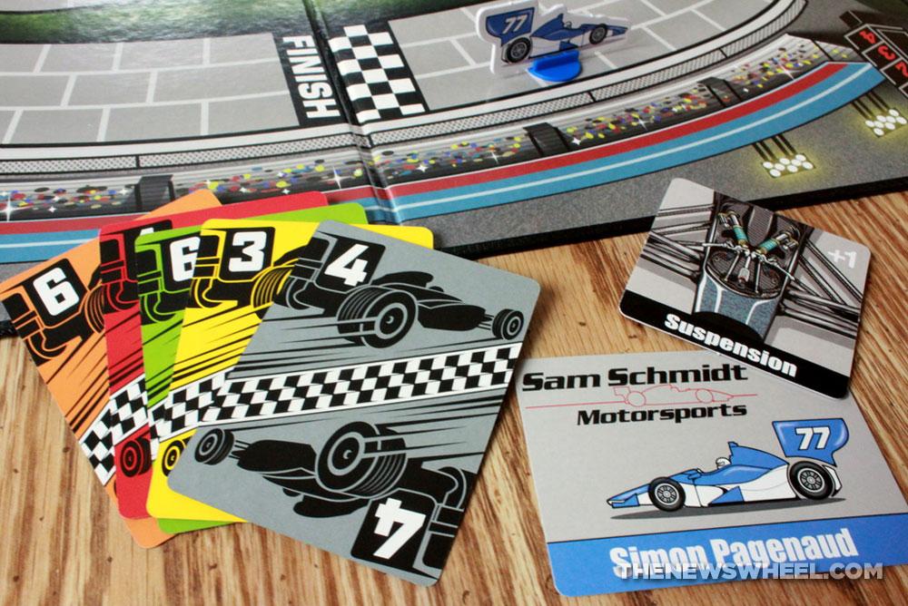 Magnetic Car Racing Game