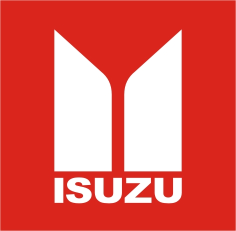 Isuzu logo pillars