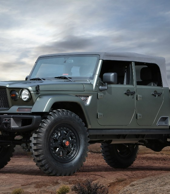 BREAKING NEWS: Jeep Wrangler Pickup Truck Will Be A Crew