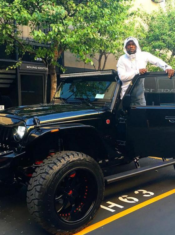 Kevin Hart Jeep Wrangler >> Kevin Hart's Custom Jeep Wrangler is the Car of your Dreams [PHOTOS] - The News Wheel