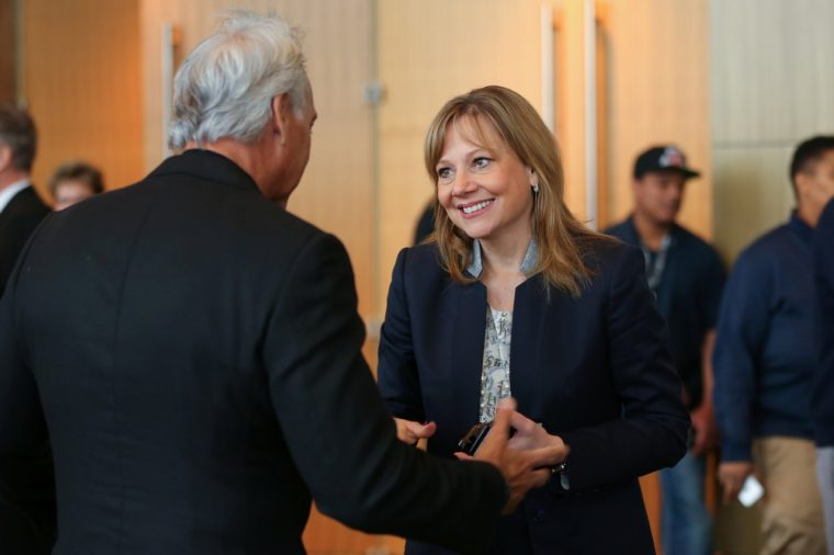 Mary Barra at the GM 24th Annual Supplier of the Year Awards