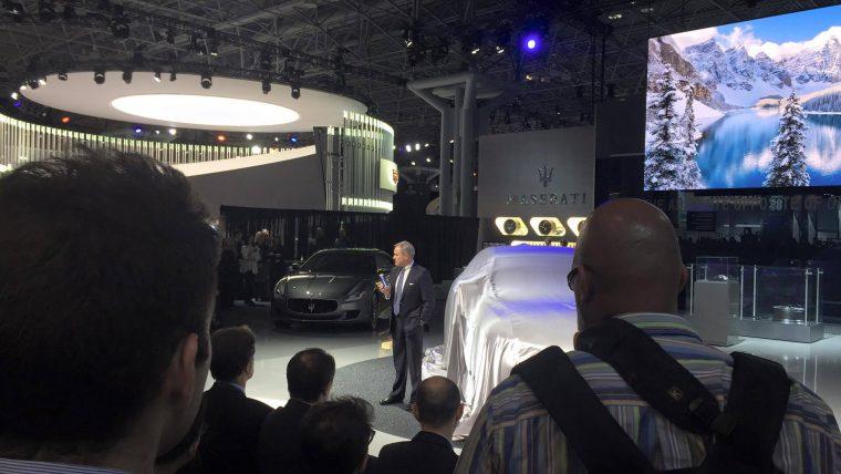 Maserati Levante New York International Auto Show