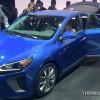 New York Auto Show Hyundai presentation IONIQ hybrid car