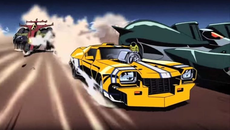 Redline Anime 2009 racing movie review Grand Am Yellowline