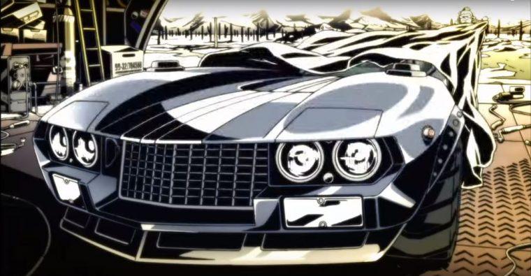 Redline Anime 2009 racing movie review car