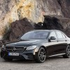 Specs and photos of the 2017 Mercedes-AMG E43 leak before the car's official debut at the New York Auto Show