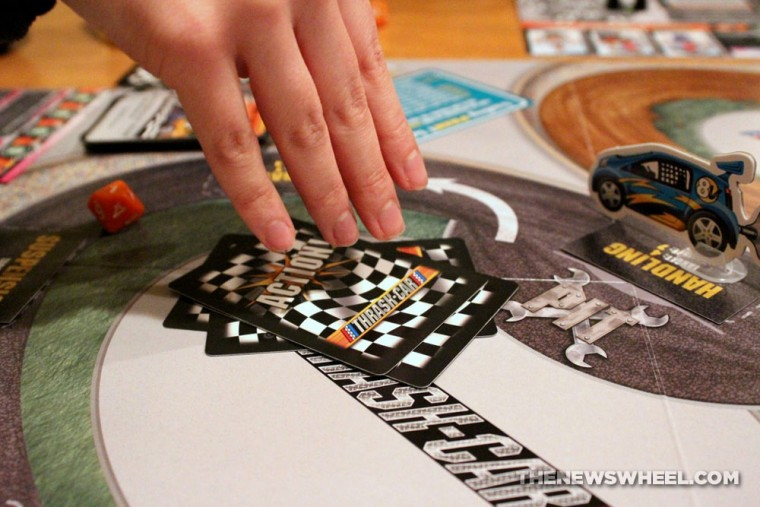 Thrash Car Racing Board Game Review Solar Flare competition