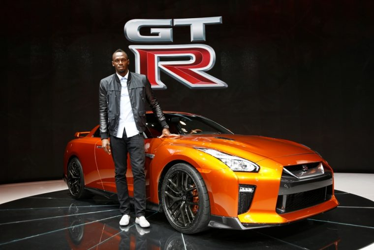 Usain Bolt and the Nissan GT-R