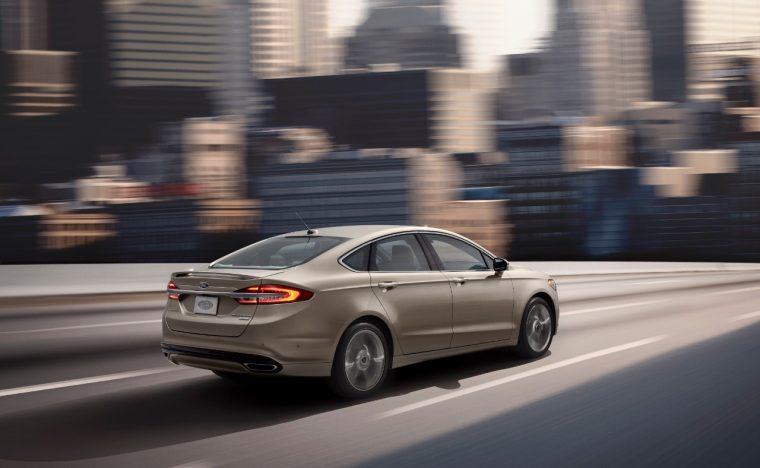 Ford Fusion Platinum >> 2017 Ford Fusion Will Be Available With Stop And Go
