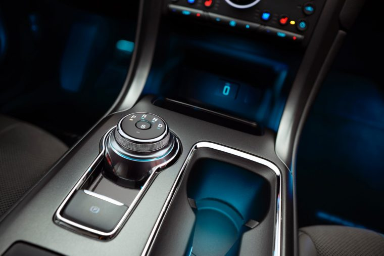 2017 Ford Fusion Sport Cup Holders