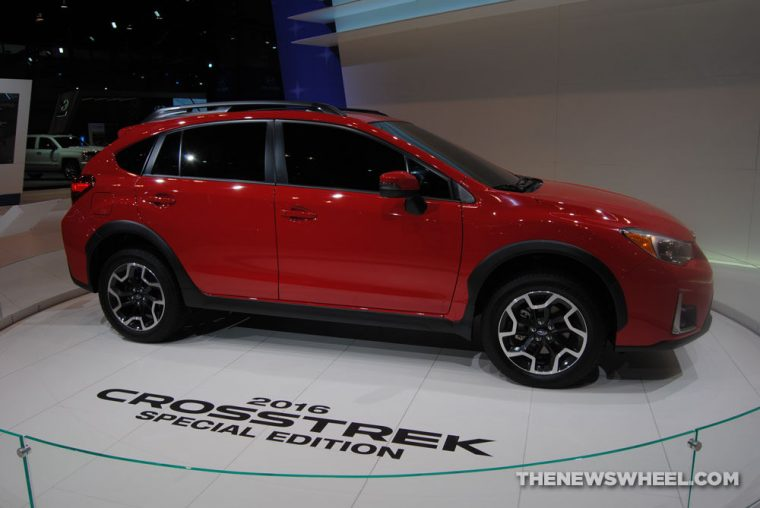 2016 Subaru Crosstrek Pure Red Special Edition