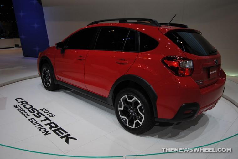 """2016 Subaru Crosstrek """"Pure Red"""" Special Edition"""