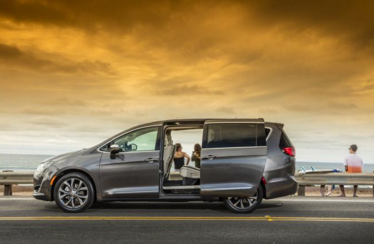 2017 Chrysler Pacifica Sliding Doors