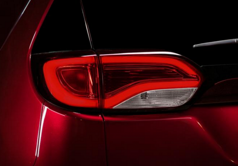2017 Chrysler Pacifica Taillights