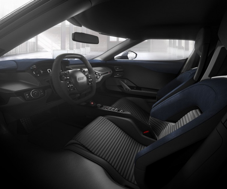 2017 Ford GT Light Speed Interior
