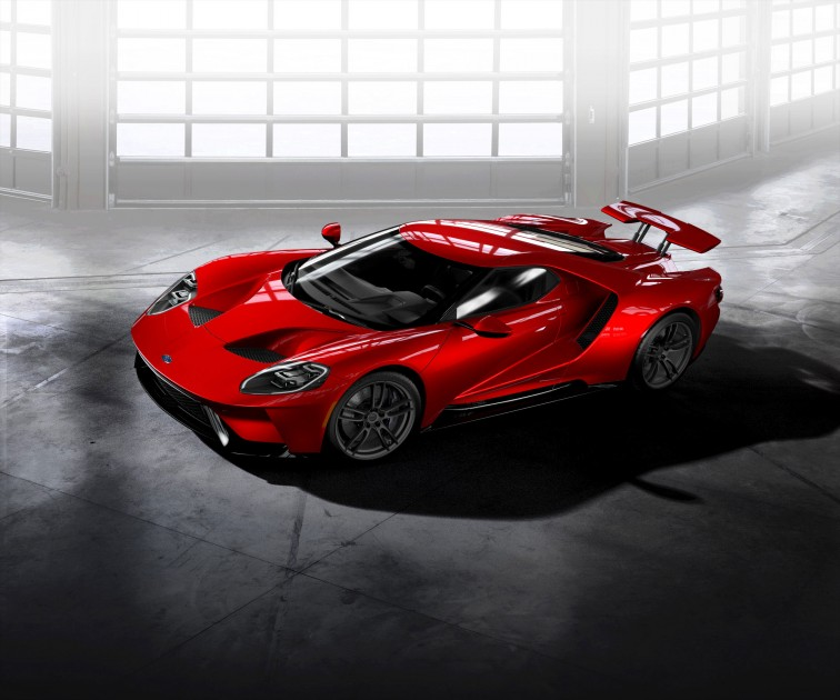 2017 Ford GT Liquid Red