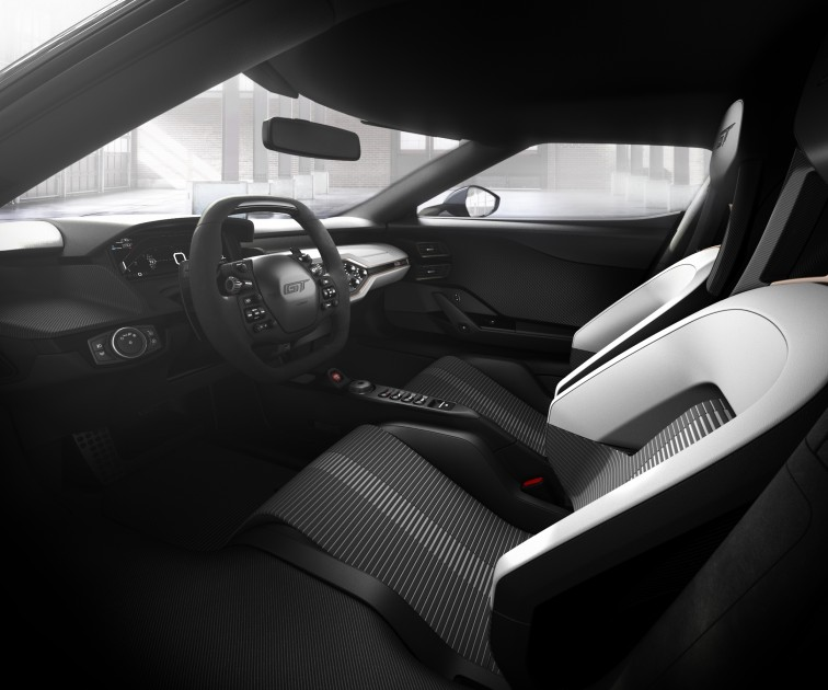 2017 Ford GT Re-Entry Interior