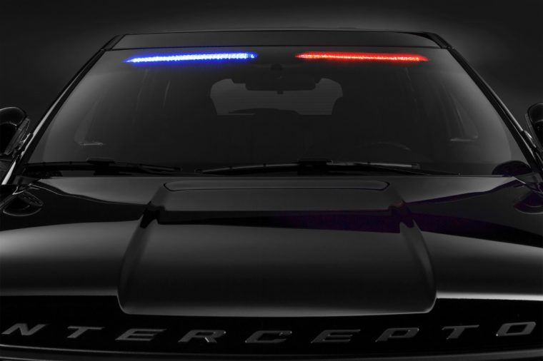 2017 Ford Police Interceptor Visor Light Bar