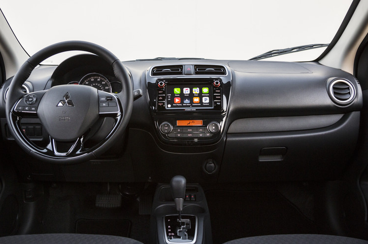 2017 Mitsubishi Mirage Interior