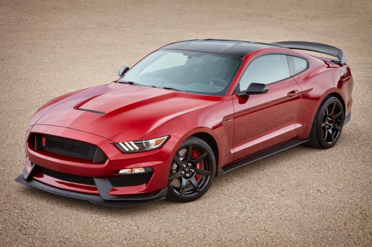 2017 Shelby GT350 Ruby Red Metallic