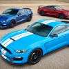 2017 Shelby GT350 new colors