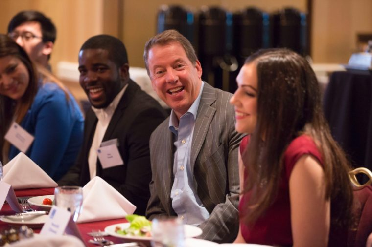 Bill Ford at a Thirty Under 30 meeting