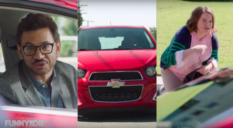 Chevy Sonic Small Talk with Al Madrigal screenshot
