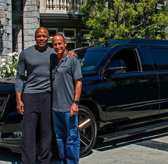 Dr. Dre's New Stretched Cadillac Escalade Is Heaven On