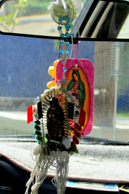 Dreamcatcher rear view mirror accessory