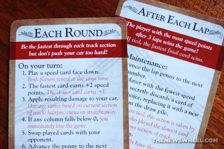 Famous 500 racing card game directions