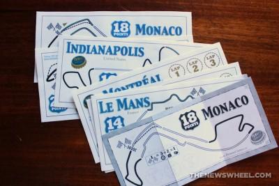 Famous 500 racing card game tracks
