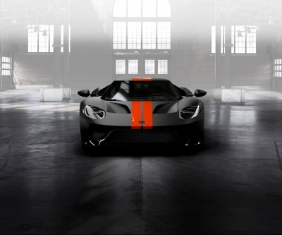 Ford GT Competition Orange Stripes