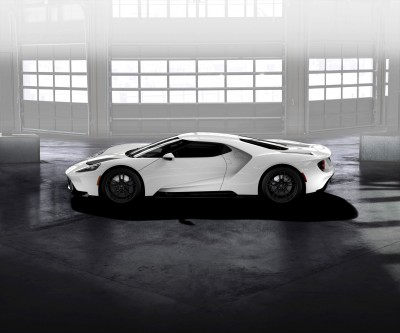 Ford GT Frozen White