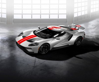Ford GT Gloss Black wheels with Black lug nuts