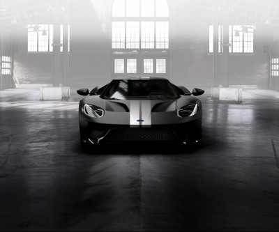 Ford GT Ingot Silver Stripes