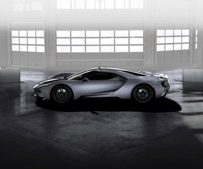 Ford GT Liquid Grey