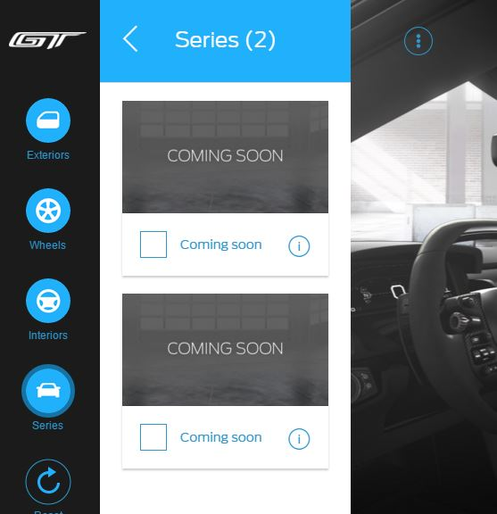 Ford GT series coming soon