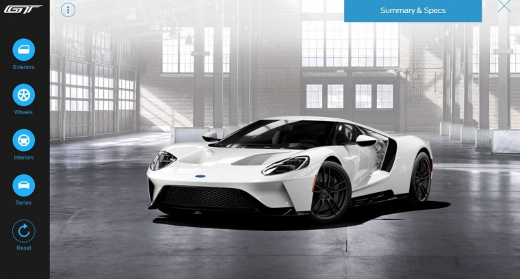 Ford GT warehouse