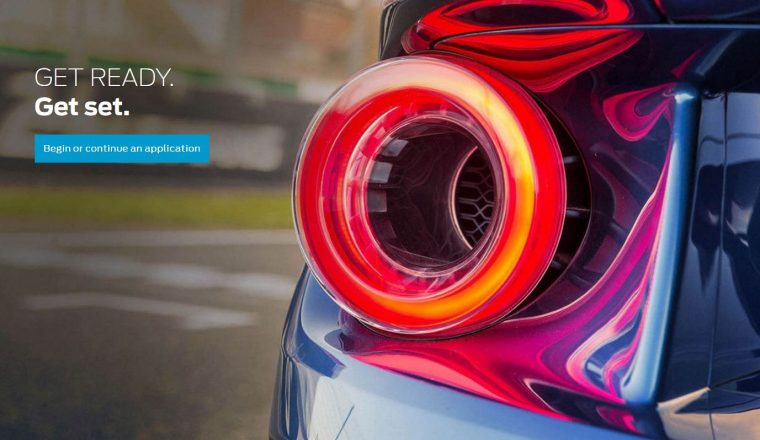 Get Ready Ford GT application