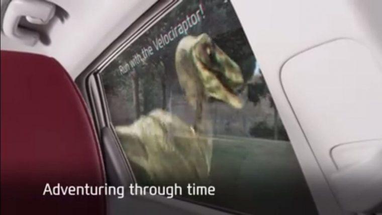 Hyundai Tucson VRES April Fools Joke Travel Raptor