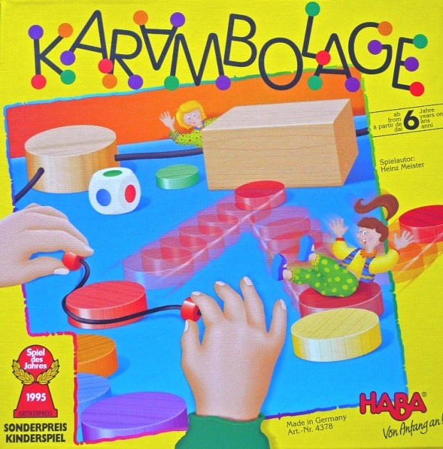 Karambolage game from HABA