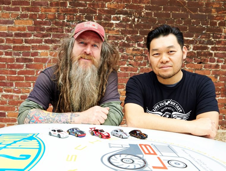 Magnus Walker and Jun Imai
